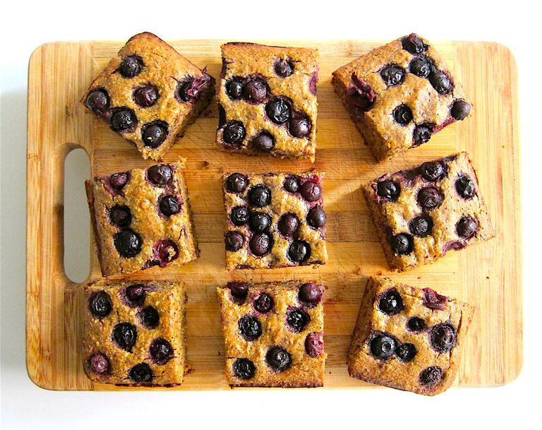 Berry, Date & Super Seed Snack Cake