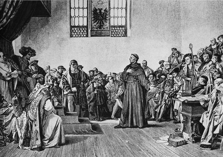 Martin Luther: The Great Reformer, print