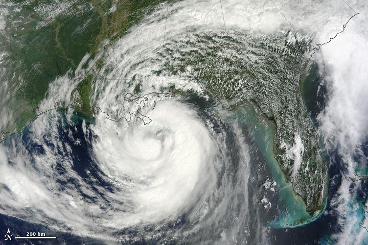 Hurricane Issac in 2012