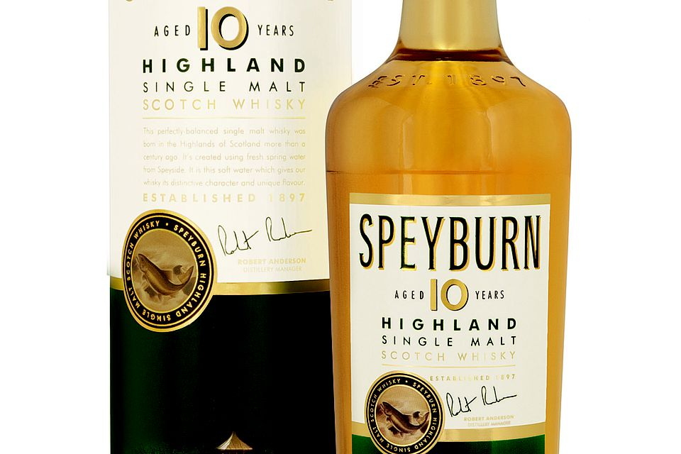 Speyburn 10YO Single Malt Scotch Whisky