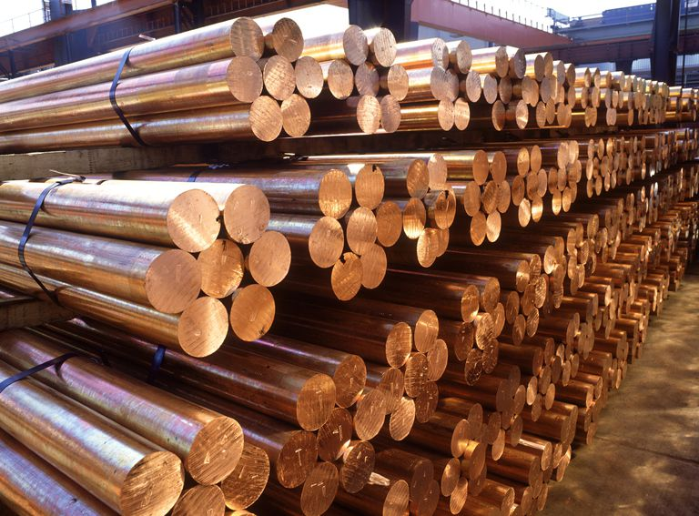 metals. copper. bars of copper for further industrial proces sing: