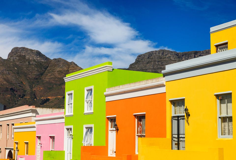 Colourful Homes in Bo Kaap