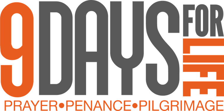 9 Days for Life Logo