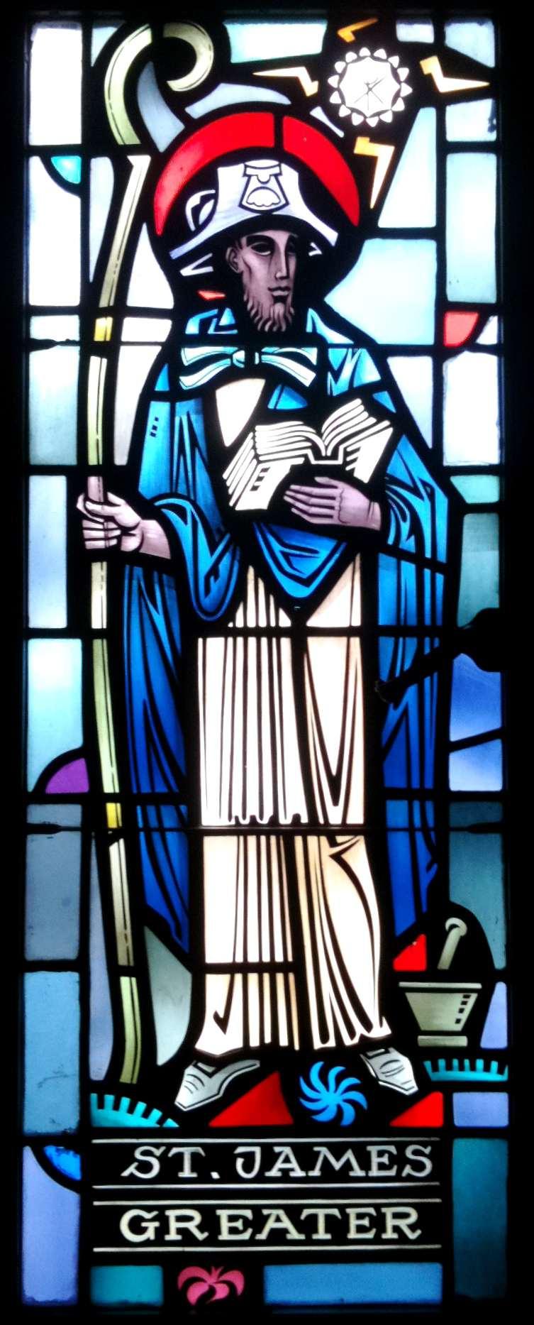 Saint James the Greater, St. Peter's Cathedral, Rockford, Illinois. (Photo © Scott P. Richert)