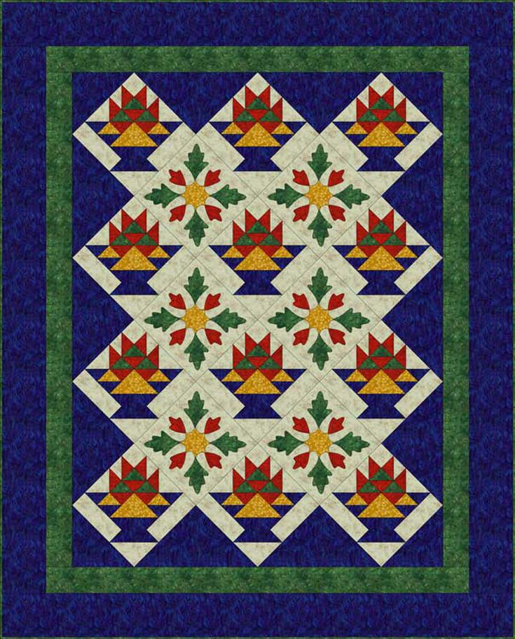 What Is Applique and How Is it Used in Quilts? : applique on quilt - Adamdwight.com
