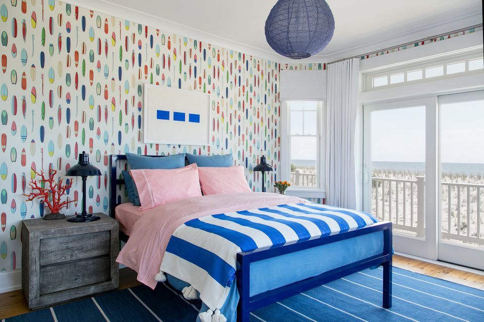 Add Color in a Child s Beach Bedroom. 50 Gorgeous Beach Bedroom Decor Ideas