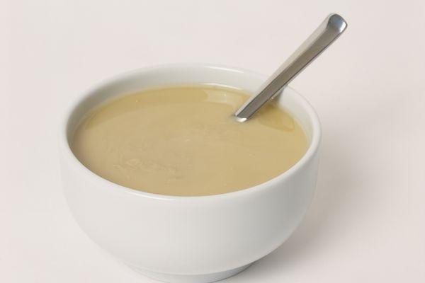 Bowl of tahini