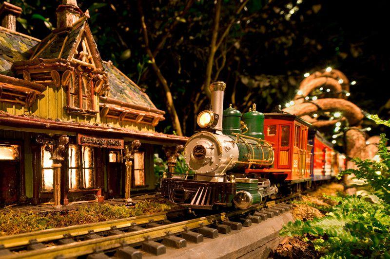 Holiday Train Show at NYBG