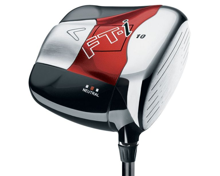 Callaway FT-i driver with its large square clubhead