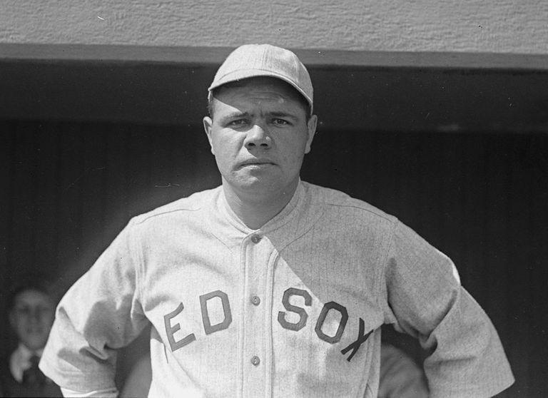 Babe Ruth con los Red Sox de Boston