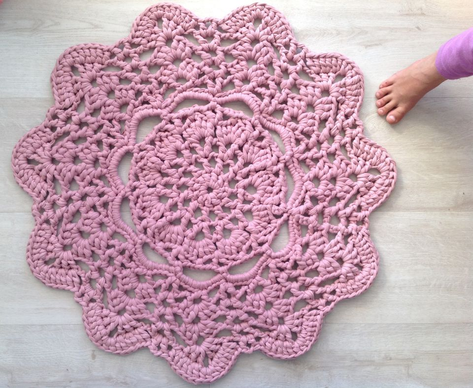 Image result for crochet rug