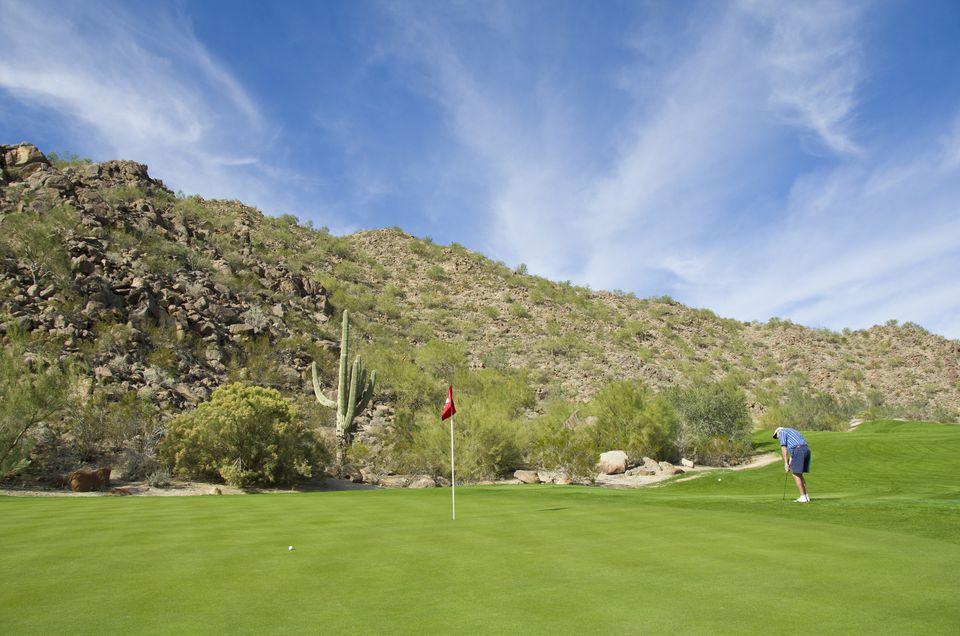 Gold Canyon Golf Resort in Gold Canyon, near Phoenix , Arizona, USA