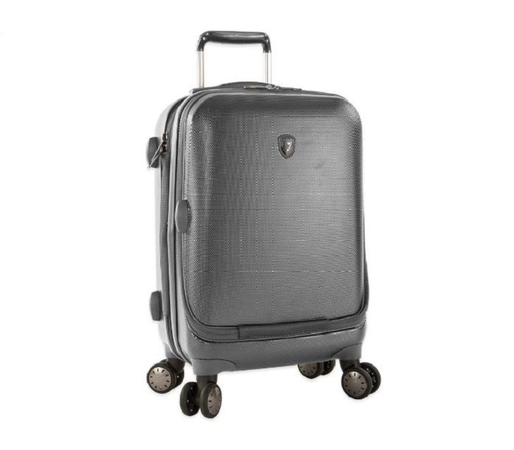 Image of a Heys smart luggage bag.