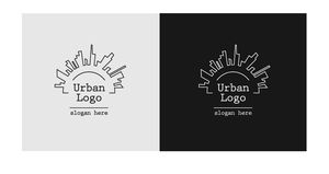 The Urban logo free template