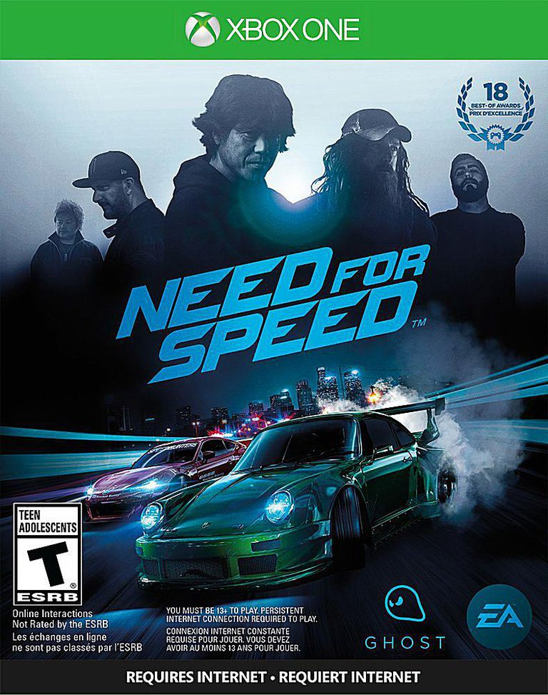 Need for Speed box