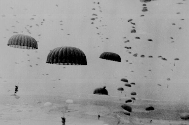 Allied airborne drops during Operation Market-Garden, 1944