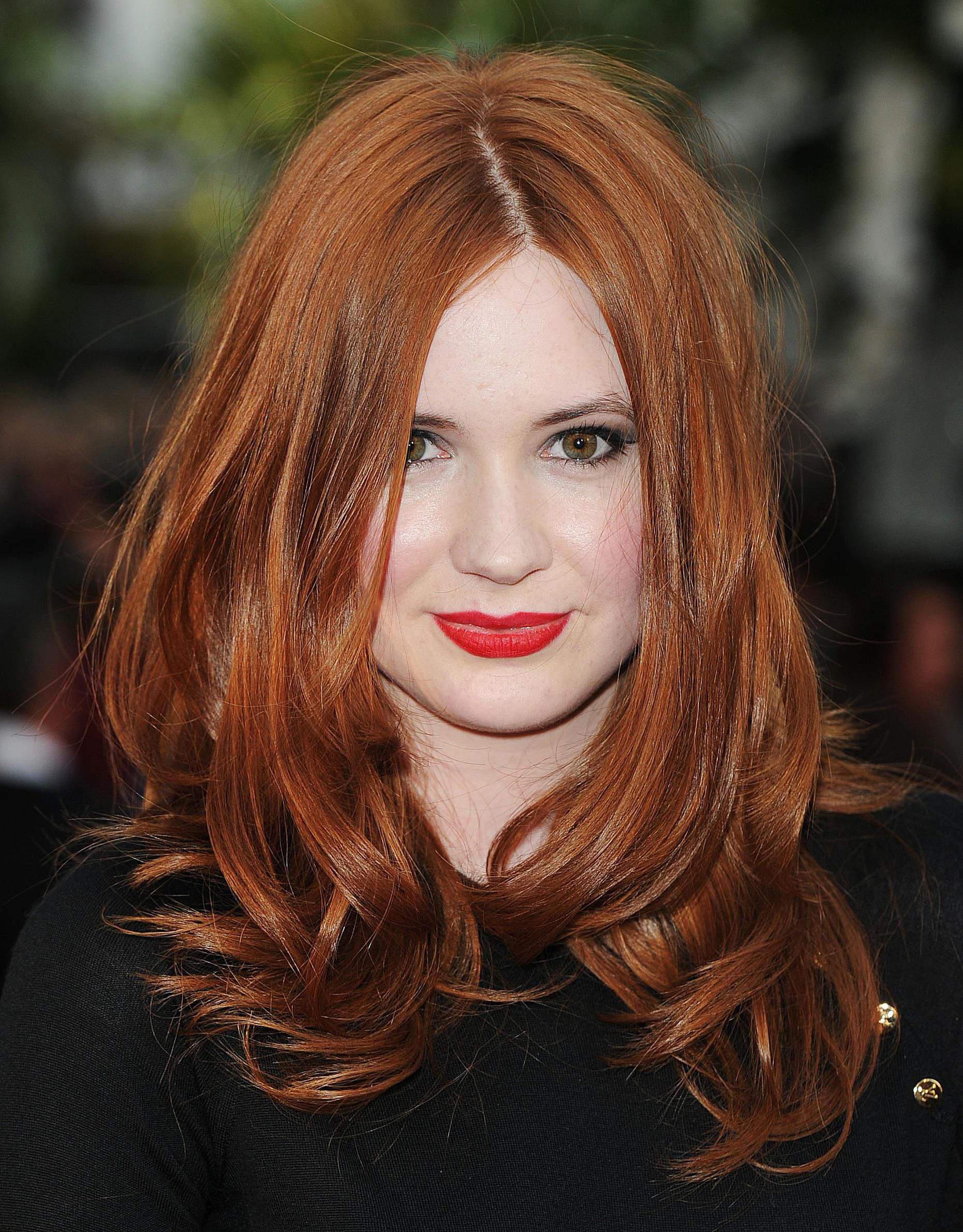 Pictures Of Dazzling Ways To Wear Red Hair