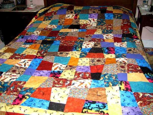 Ugly Quilts Photo Gallery : slash quilt - Adamdwight.com