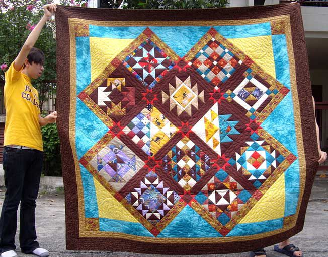 Pictures of Sampler Quilts to Inspire Your Next Quilt : sampler quilt pattern - Adamdwight.com
