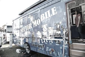 Mobile spay and neuter clinic van