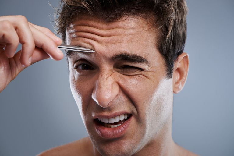 How To Perfectly Groom Mens Eyebrows