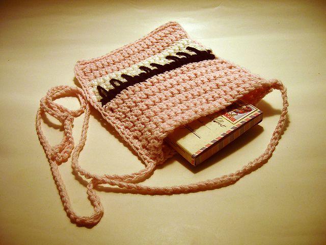Crochet Piano Purse Free Pattern