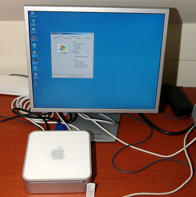 Windows XP on an Intel Based Mac Mini