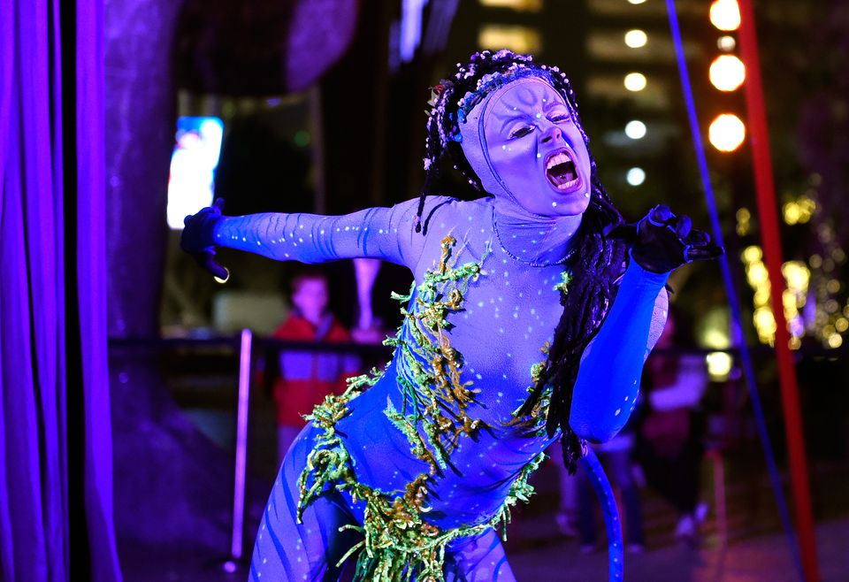 Artists From Cirque du Soleil's 'TORUK - The First Flight' At 'Party At The Park'