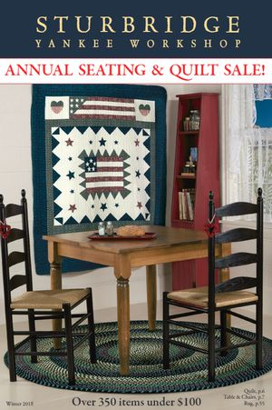 29 free home decor catalogs you can get in the mail for Sturbridge yankee workshop