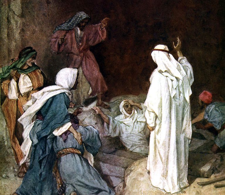 John 11 - Raising of Lazarus