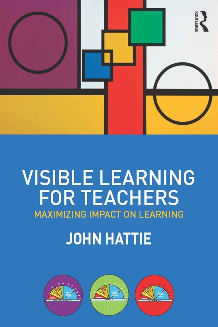 cover of John Hattie's book