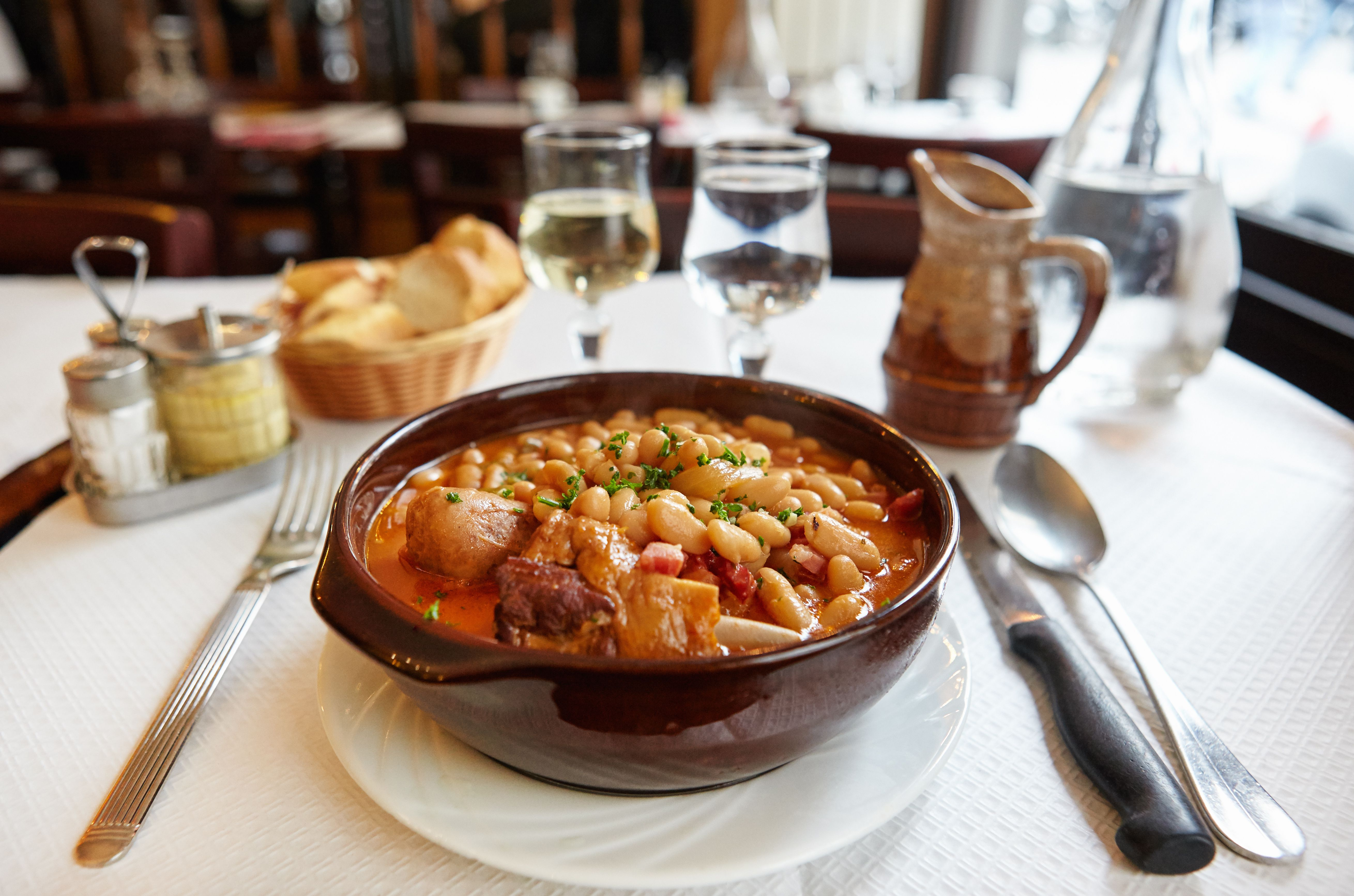 Chicken And Sausage French Cassoulet Recipe
