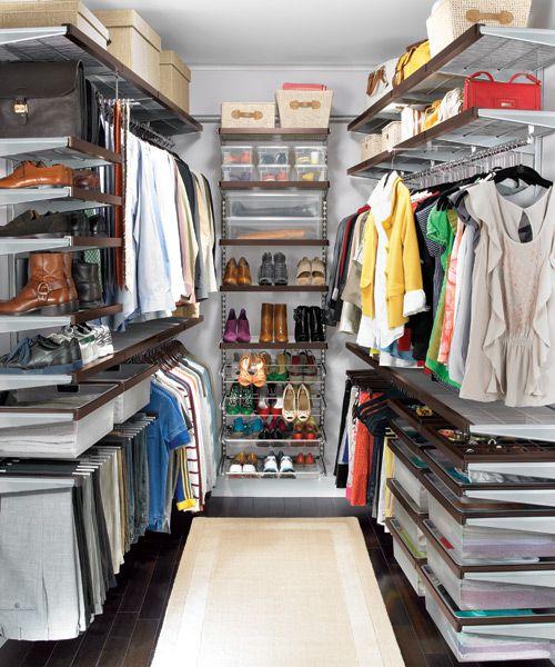 Elfa Large Shared Closet