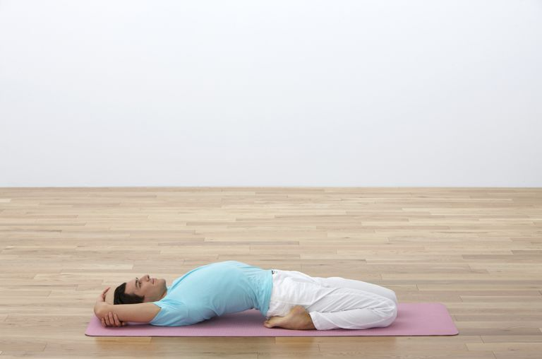 How to Do Reclined Hero Pose - Supta Virasana
