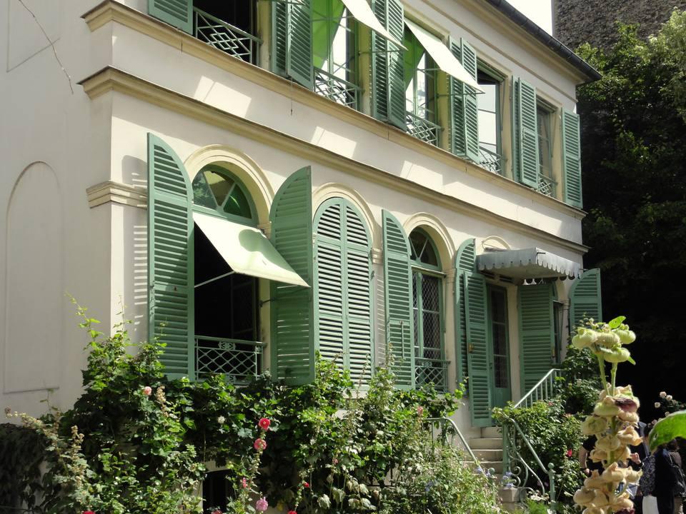The entrance to the Musée de la Vie Romantique