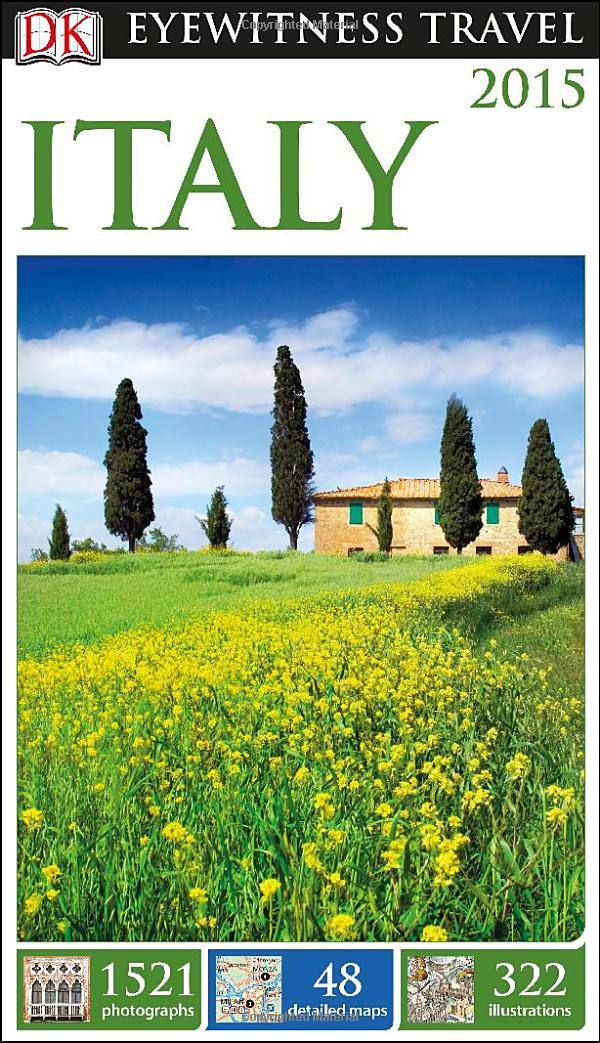 DK Eyewitness Travel Italy book photo