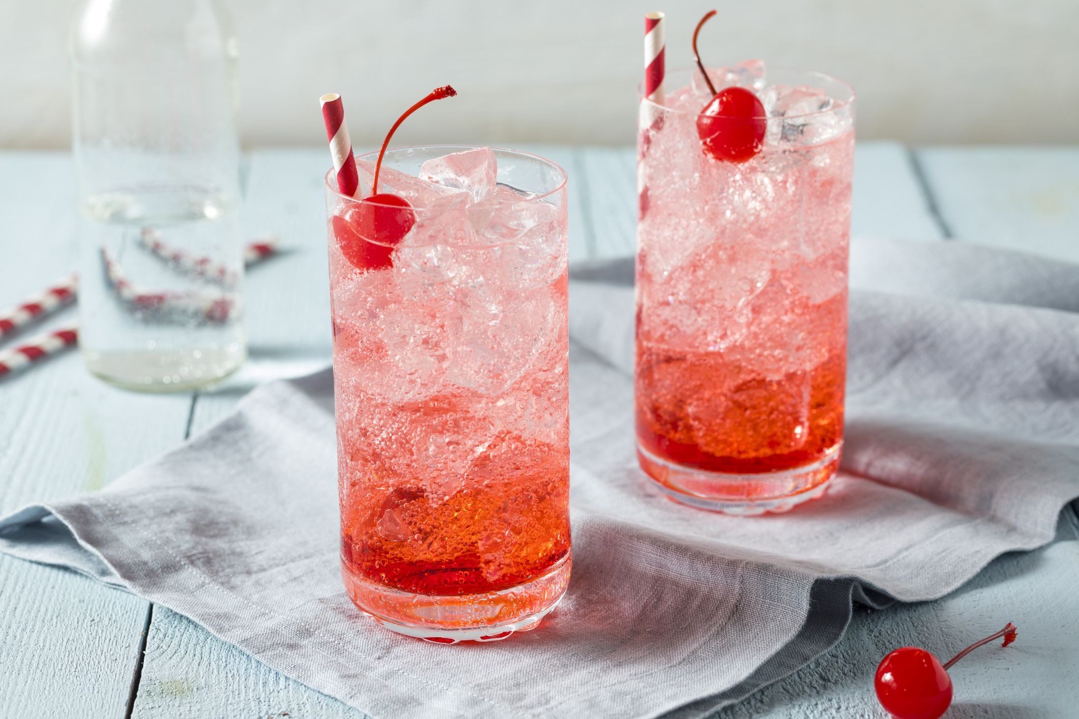 The Popular Shirley Temple Mixed Drink Recipe