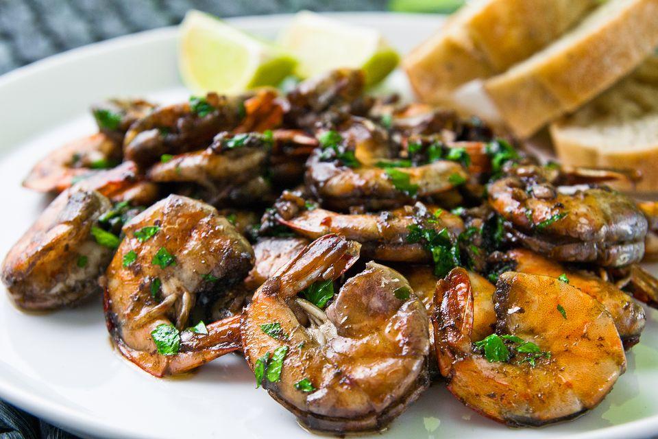 Fried Tamarind Shrimps