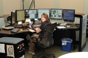 Police dispatchers serve as the lifeline between officers and crime victims.