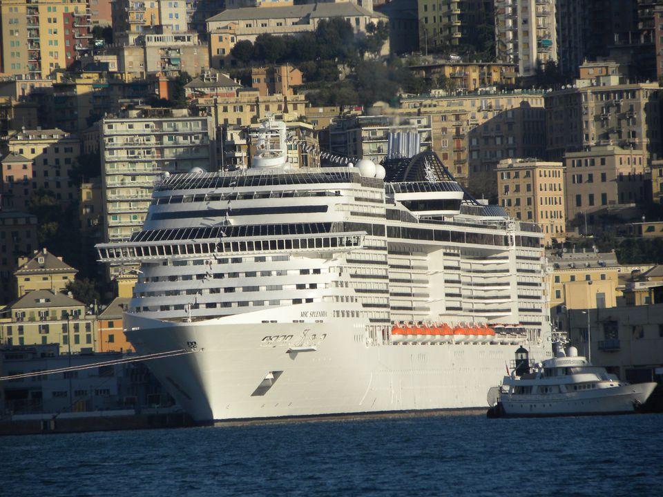 MSC Splendida cruise ship