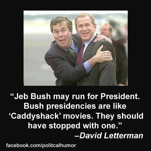 Funny George Bush Quotes: Funny Late-Night Jokes About Jeb Bush