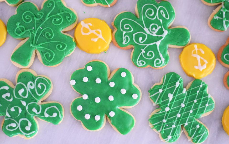 Shamrock sugar cookies voltagebd Images