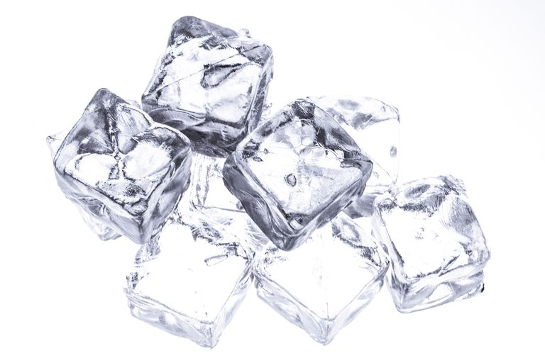 You can lower the freezing point of water into ice using freezing point depression,