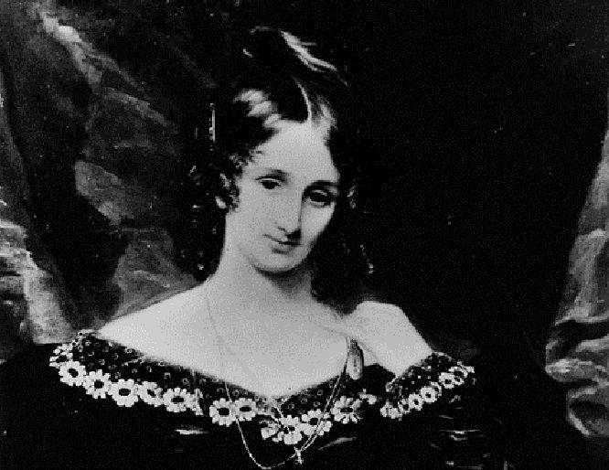 Retrato de Mary Shelley, creadora de 'Frankenstein'