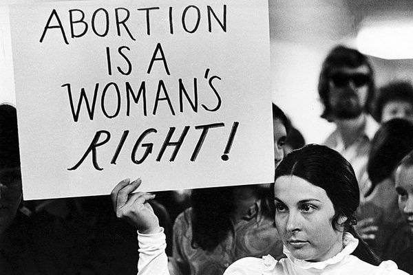 Legalize abortion protesters