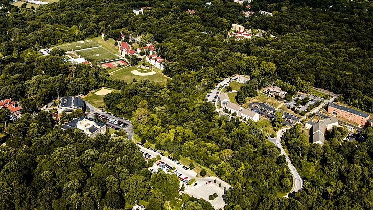 Aerial View of Eastern University
