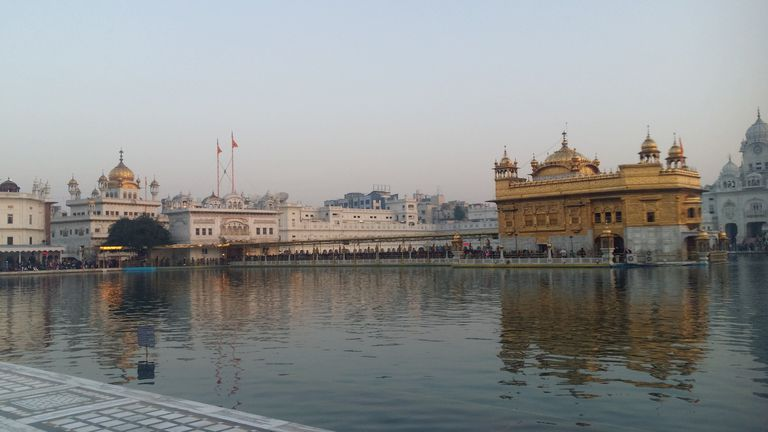 Golden Temple and Akal Takhat Restored