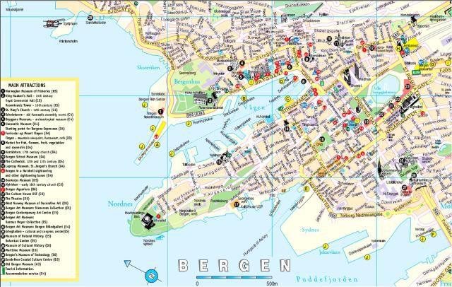 Maps Of Scandinavia - Norway map hamar