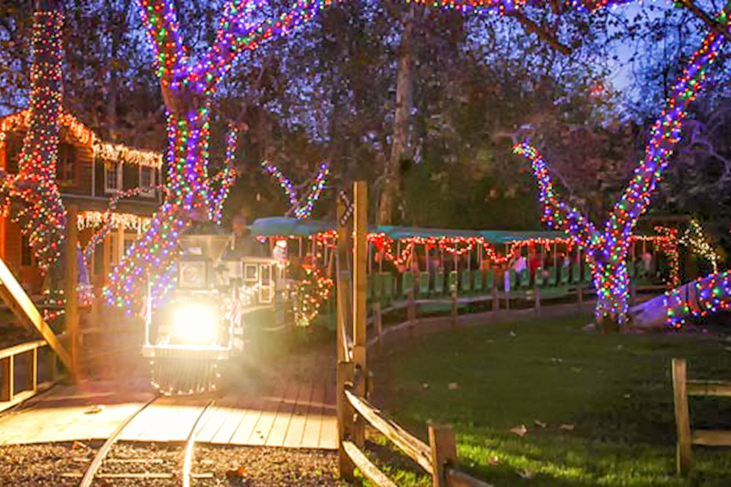 christmas in orange county best holiday events - Christmas Light Train