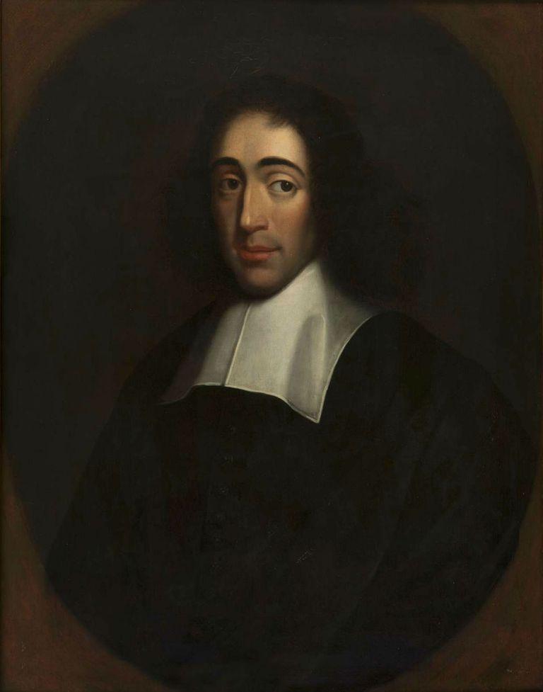 Portrait of Baruch Spinoza, Last quarter of 17th century